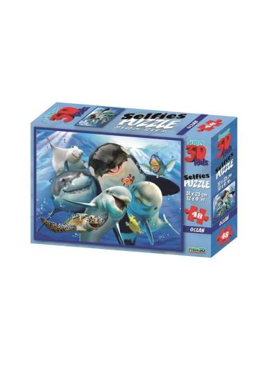 Puzzle 3D Ocean Selfie Prime 3D