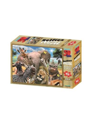 PUZZLE 3D AFRIKA SELFIE PRIME 3D