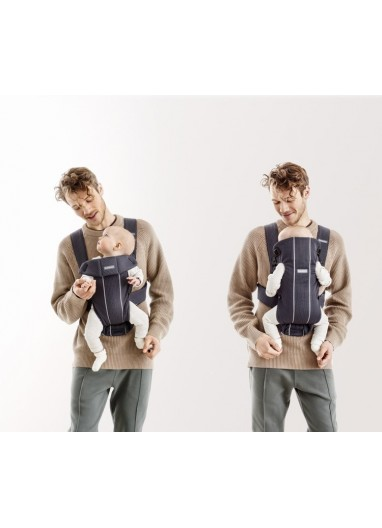 Baby Carrier Mini Navy blue BabyBjorn