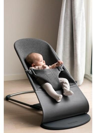 Bouncer Bliss 3D Jersey Charcoal grey BabyBjorn