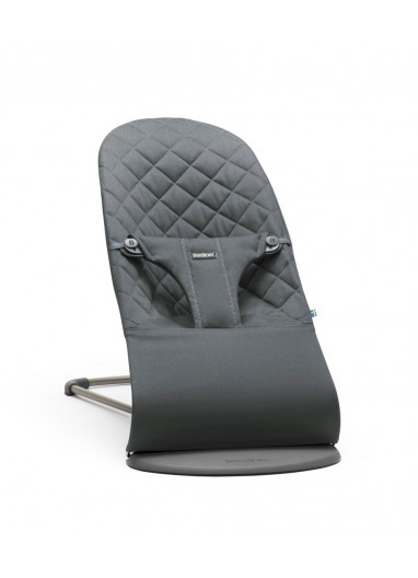 Bouncer Bliss Cotton Anthracite BabyBjorn