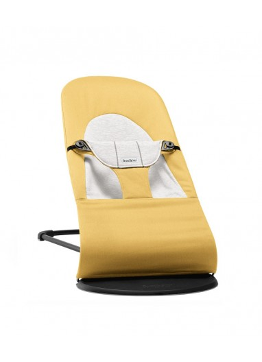 Bouncer Balance Soft Yellow/grey BabyBjorn