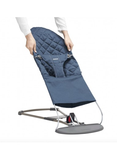 Extra Fabric Seat for Bouncer Bliss Midnight Blue BabyBjorn