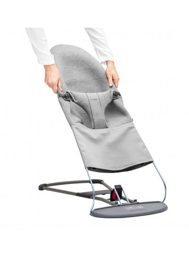 Extra Fabric Seat for Bouncer Bliss Light Grey BabyBjorn