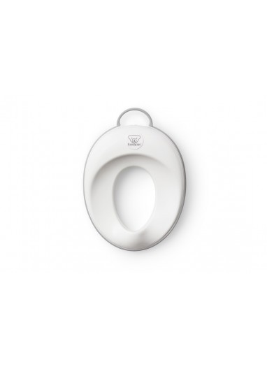 Comfy Toilet Training Seat White/Grey BabyBjorn