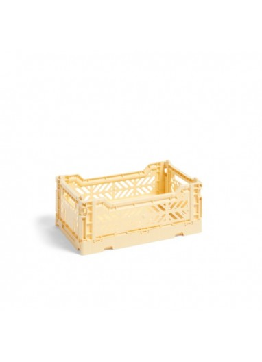 Colour Crate S Light yellow HAY