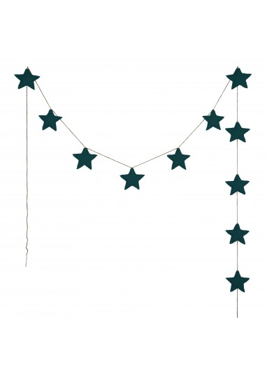 Mini Star Garland Gold Numero 74
