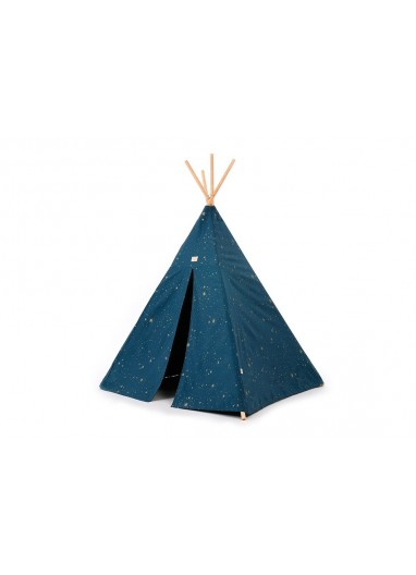 Tipi Phoenix gold stella/night blue Nobodinoz