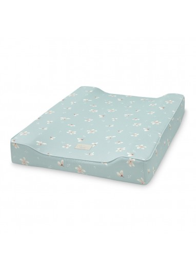 Changing Pad Fitted cover Windflower Blue Cam Cam Copenhagen