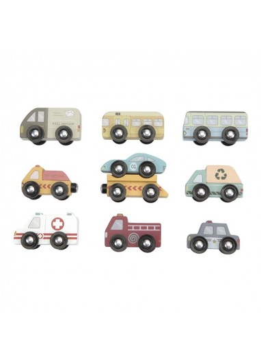 9 vehículos FERROCARRIL LITTLE DUTCH