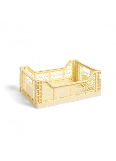 Caja plegable M Light yellow HAY
