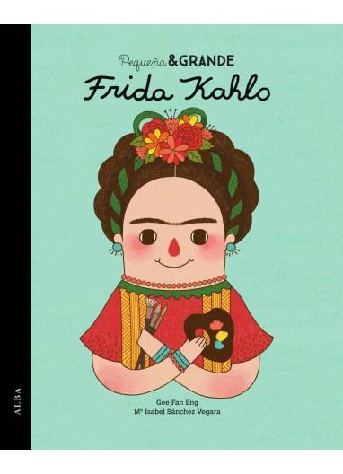 """Short story """"Pequeña y Grande Frida Kahlo"""" Alba Editorial"""