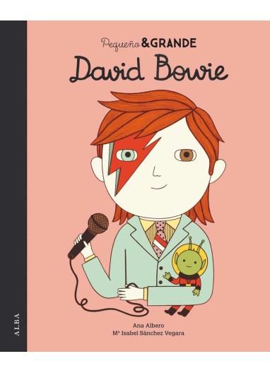 """Short story """"Pequeño & Grande David Bowie"""" Alba Editorial"""