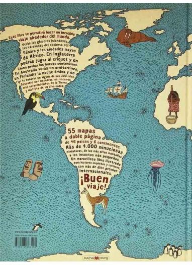 "Book ""Atlas del Mundo"" Maeva"