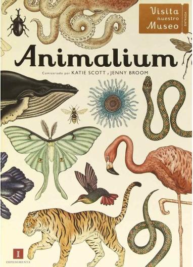 """Book """"Animalium"""" Impedimenta"""