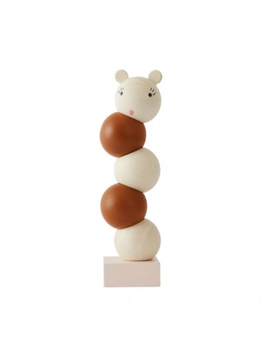 WOODEN STACKING LALA - NATURE Oyoy