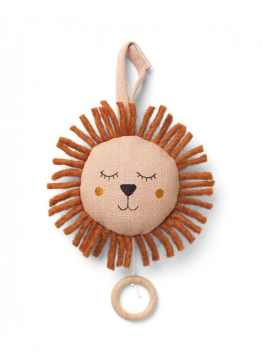 Lion Music Mobile - Dusty Rose - Ferm Living