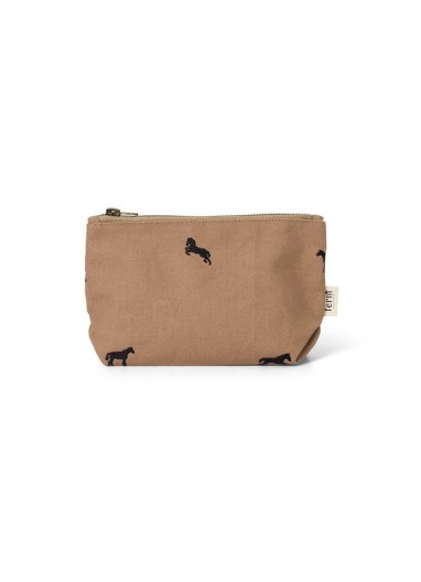 Horse Embroidery Bag - Small - Tan Ferm Living