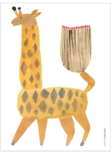 Noah Giraffe Poster OYOY