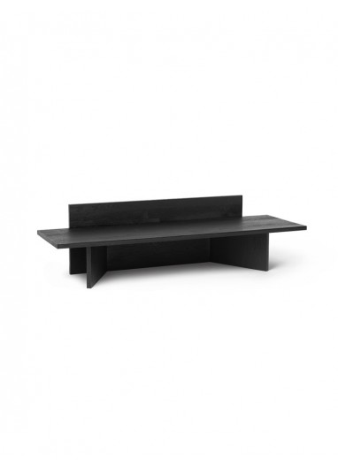 Oblique Bench - Black Stained Ash Ferm Living
