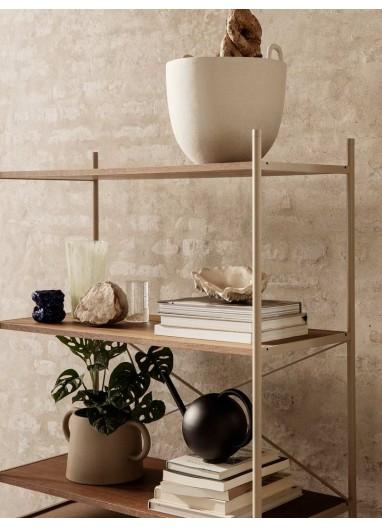 Punctual - Wooden Shelf-Smo.Oak Grey Ferm Living