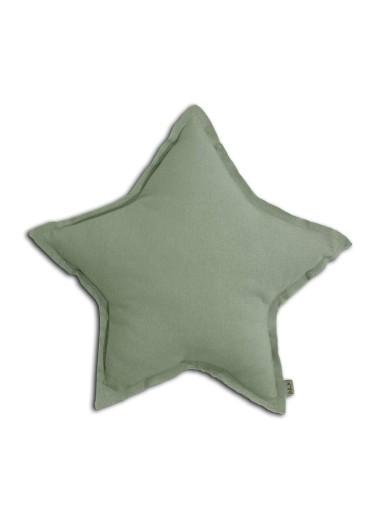 Star Cushion Sage Green Small Numero 74