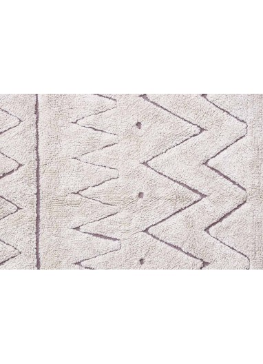 Alfombra Lavable RugCycled Azteca M Lorena Canals