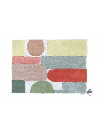 Washable Rug Abstract L Lorena Canals