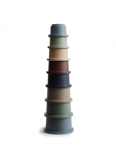 Stacking Cups Toys Forest Mushie