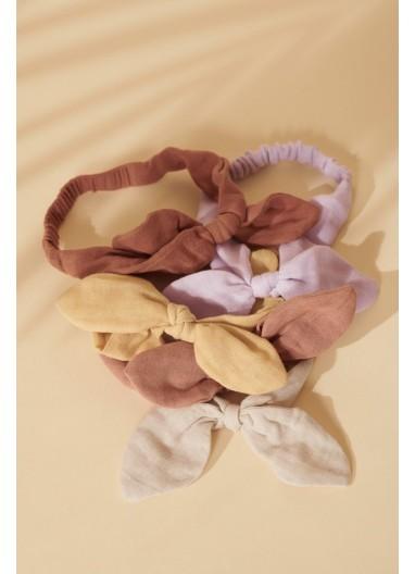 Henny Headband 2-pack Wheat Yellow Liewood