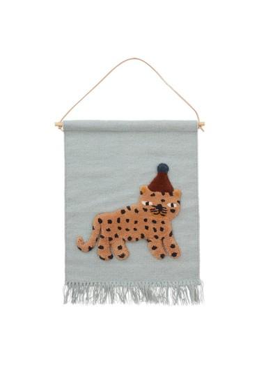 Tapiz decorativo Leopardo OYOY
