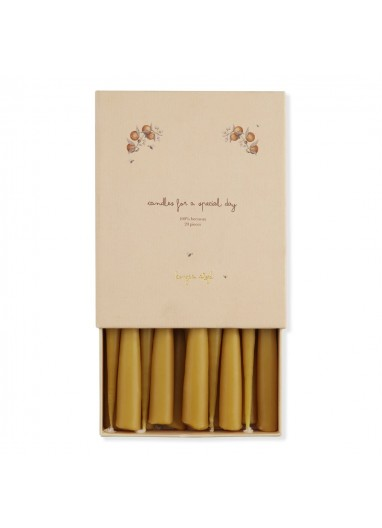 20 PACK CANDLES - NATURE Konges Slojd