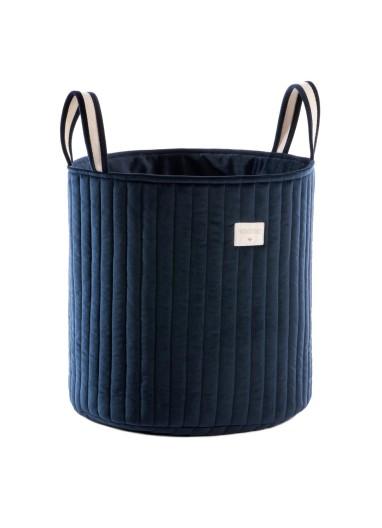 Savanna Velvet toy bag Night blue Nobodinoz Nobodinoz