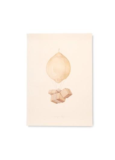 Poster Air Balloon 50x70 Konges Slojd