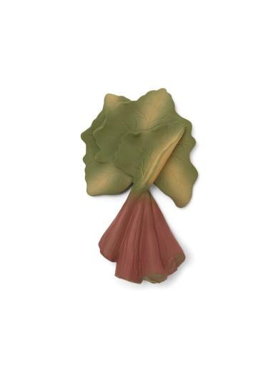 Teeth Soother Vegetable Rhubarb Konges Sloejd