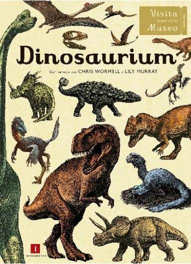 """Book """"Dinosarium"""" Impedimenta"""