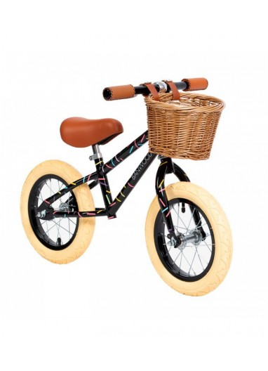 Bicicleta sin pedales Allegra Negra Banwood