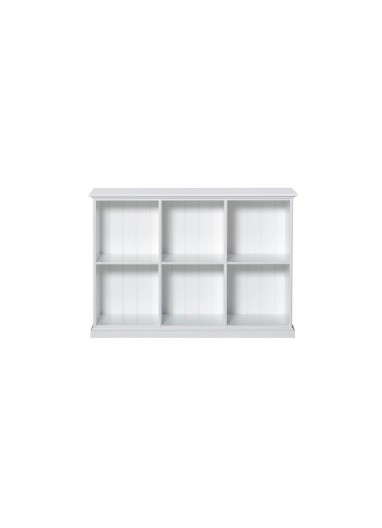 Seaside Low Cabinet With 6 Rooms Oliver Furniture