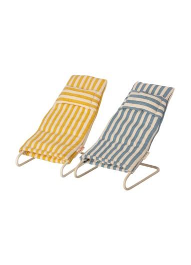 Beach Chair Set Mouse Maileg