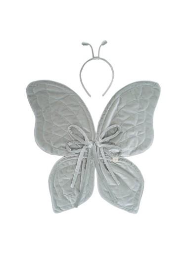 Butterfly Wings Silver Grey Numero 74