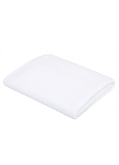 Top Sheet white 110x170cm Numero74 for cots