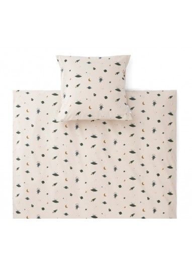 Carl Adult Bedding Space Sandy Mix Liewood
