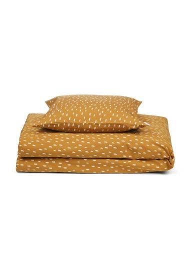 Carl Adult Bedding Graphic Stroke / Golden Caramel Liewood