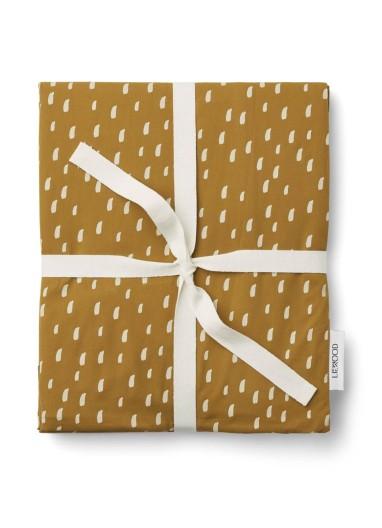 Funda Nórdica Adulto Carl Graphic Stroke / Golden Caramel Liewood
