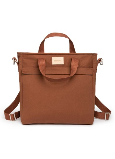 Changing Backpack Clay Brown Nobodinoz
