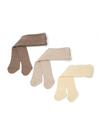 3 Pack Terry Stockings Mellow Marsmellow Konges Slojd