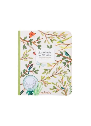 The Botanist Sticker Notebook Moulin Roty