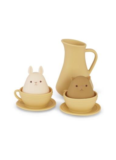 Silicone Bath Toys Cup Set Limonade Konges Slojd