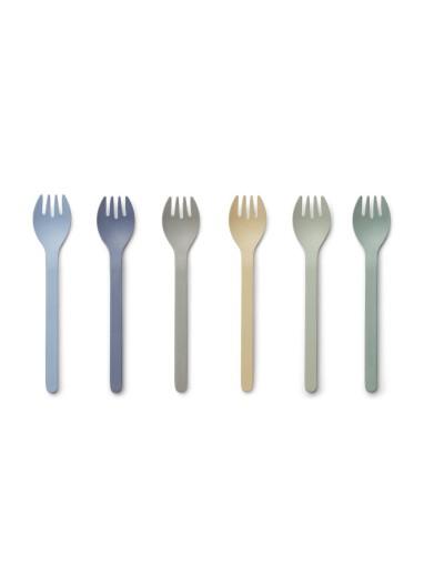 6 Pack Selena Fork
