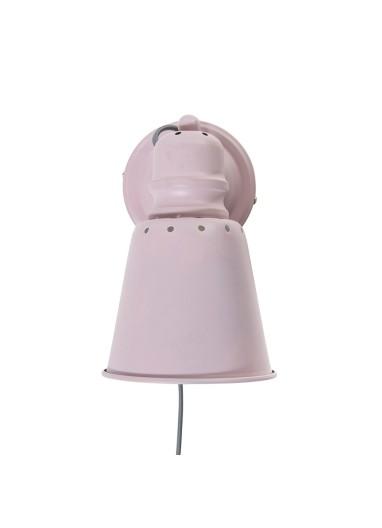 Lámpara pared rosa Sebra